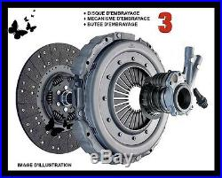 3 PIECES KIT D'EMBRAYAGE LAND ROVER DEFENDER 2.5 90 TDI Réf STC8358