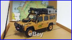 Almost Real 143 Modèle Die Cast Land Rover Defender 110 Camel Trophy Malaysia
