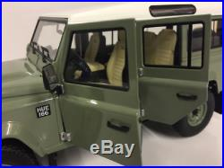Almost Real 1/18 Modèle Auto Die Cast Land Rover Defender 110 Heritage 2015