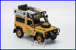 Almost Real 1/18 Voiture Miniature Die Cast Land Rover Defender 90 Tdi Camel