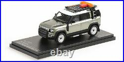 Almost Real ALM410804 LAND ROVER DEFENDER 110 2020 PANGEA GREEN 1/43