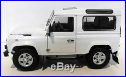 Kyosho 1/18 Scale diecast 08901FW Land Rover Defender 90 Fuji White