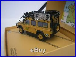 Land Rover Defender 110 Camel Trophy 1993 1/43 Almost Real 410305 Neuf