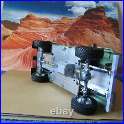Land Rover Defender 1965 1/10 Rc Station Wagon Vintage With Aluminum Chassis