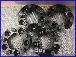 Land Rover Defender, Disco1, Range Rover Classic 30mm wheel spacers BLACK T1