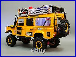 RC4WD 1/10 Land Rover Defender 110 Chameau Prix Équipe Gb 4x4 WithTreuil Rtr