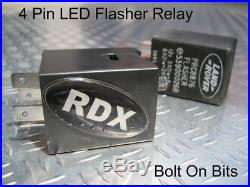 RDX Led XS Style 10 Lampe / Feux & Clignotant Latéral Protection 1998 To 2016