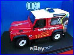 UH. Universal Hobbies. 3853 Land Rover Defender 90 SW French Fire Brigade