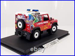 Universal Hobbies(UH) 118 Land Rover Defender 90 French Fire Brigade 1984 #3853